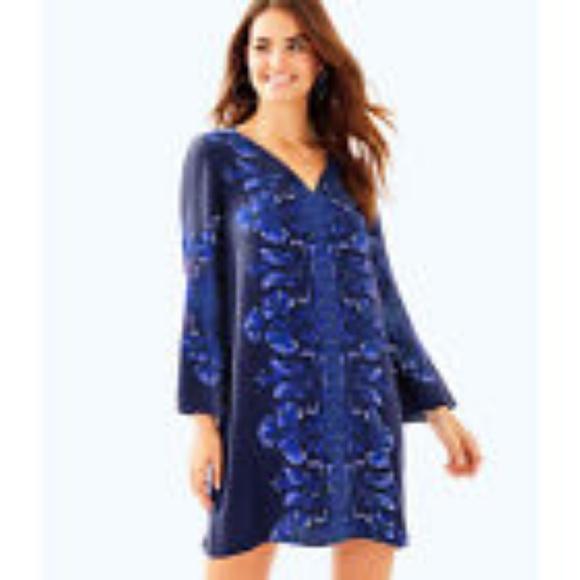 7d9bf5c8ee7d6f Lilly Pulitzer Dresses | Nwt True Navy Harlow Tunic Dress | Poshmark
